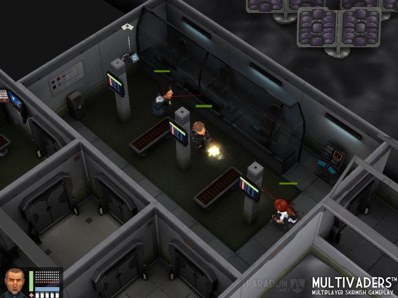 Flatiron Multivaders Gameplay 1