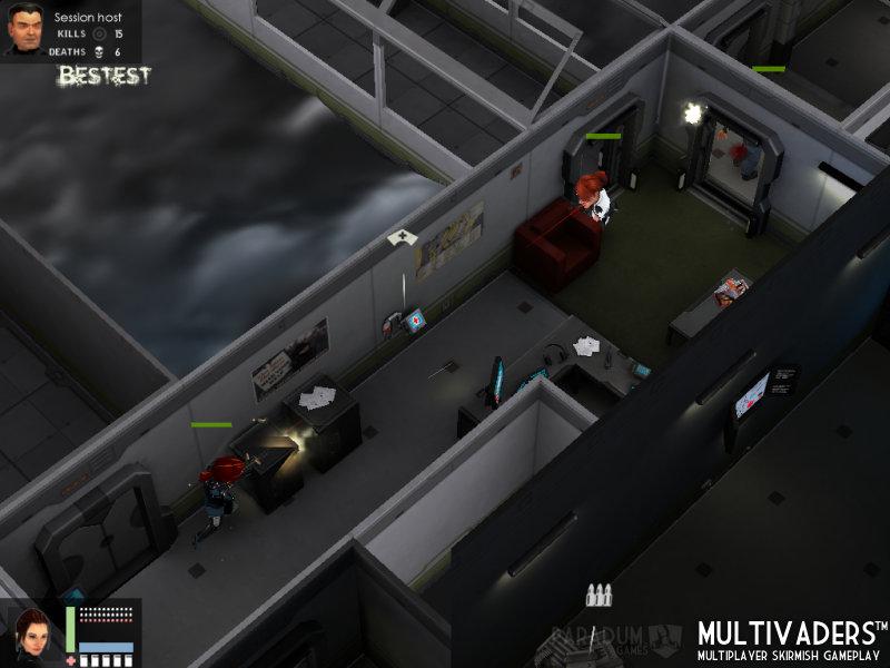 Flatiron Multivaders Gameplay 2