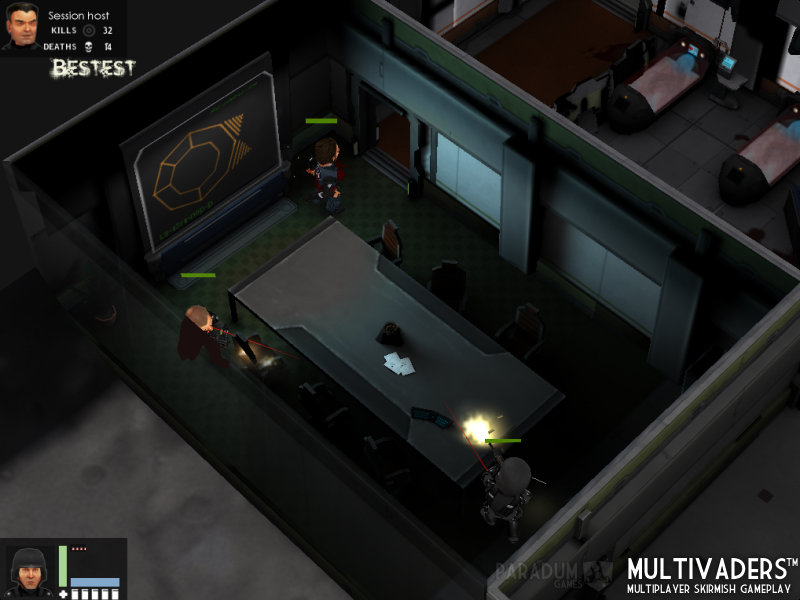 Flatiron Multivaders Gameplay 4