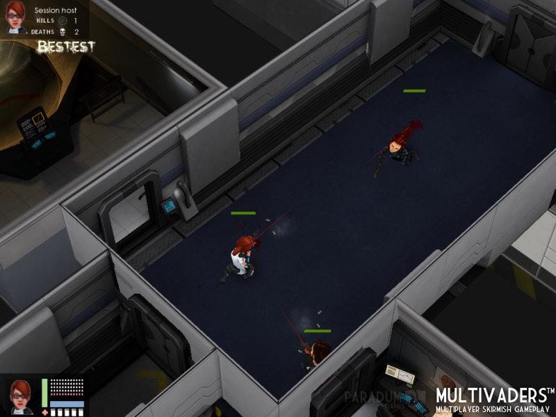 Flatiron Multivaders Gameplay 5