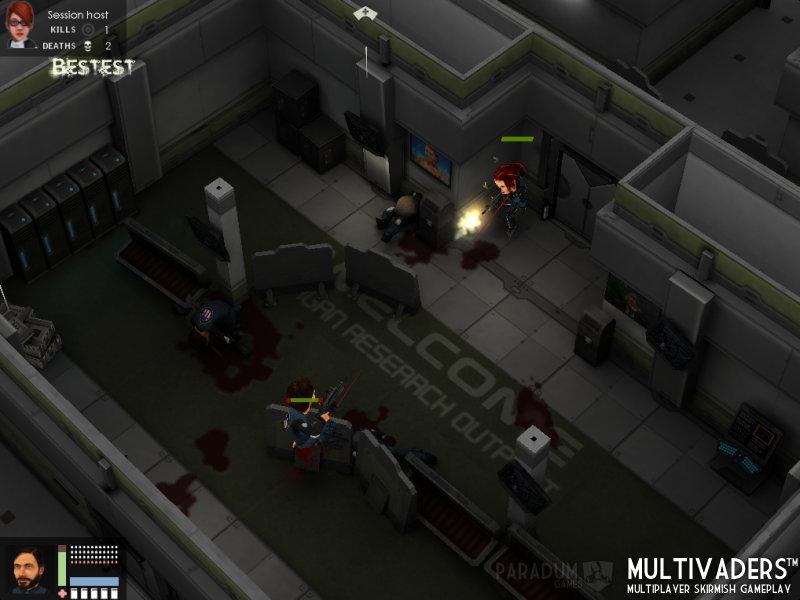 Flatiron Multivaders Gameplay 6
