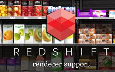 Flatiron 2.31 – RedShift texture baking