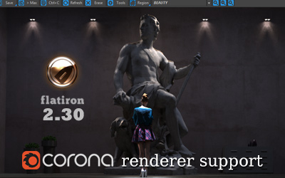 Flatiron 2.30 – Corona support!