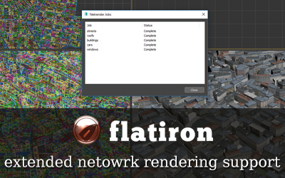 Flatiron 2.32 – Network rendering update