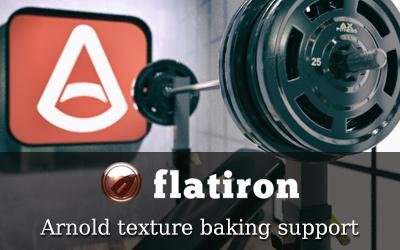 Flatiron 2.36 supports Arnold Renderer