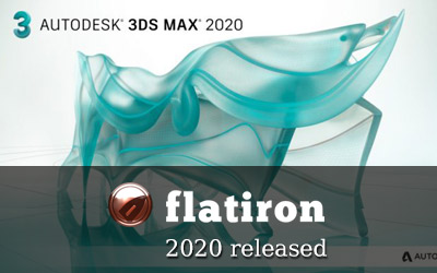 Flatiron 2.38 for 3ds Max 2020