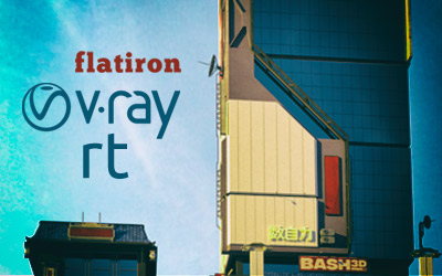 Flatiron 2.39: Vray-RT support