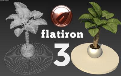 Flatiron 3 released